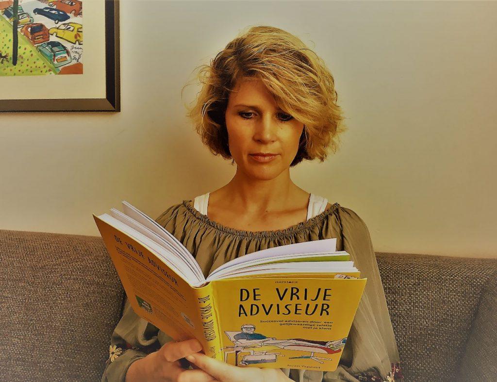 Boek: De vrije adviseur door Arjan Yspeert