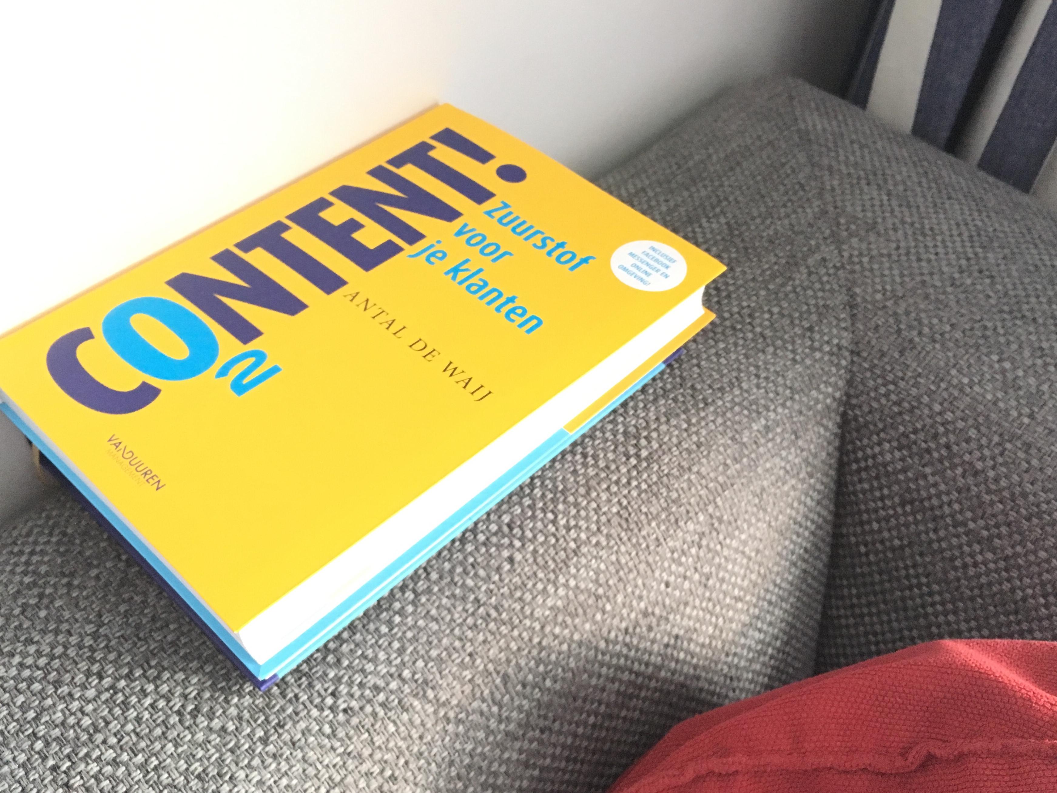 Boekrecensie Content! Zuurstof voor je klanten - Dymph Neeteson